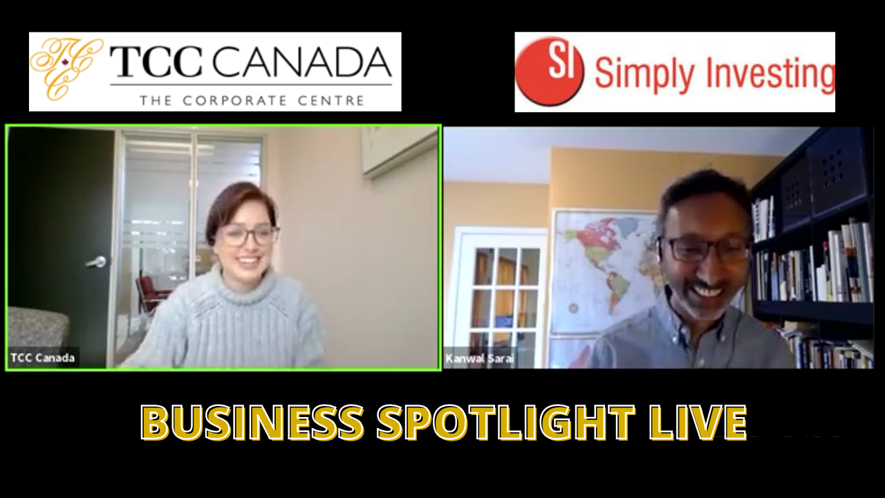 TCC Canada Business Spotlight: Simply Investing